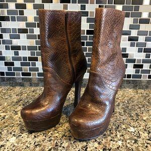 Jessica Simpson Fram boot heels